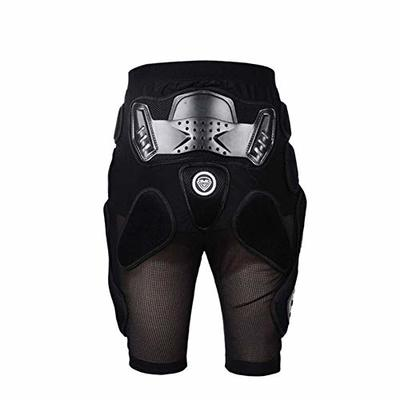 Motorcycle Protective Armor Pants, MLSice Hockey Motorcycle Armor Shorts Off-road Motorcross Downhill Mountain Bike Skating Extreme Sport Protective Gear Hip Padded Shorts