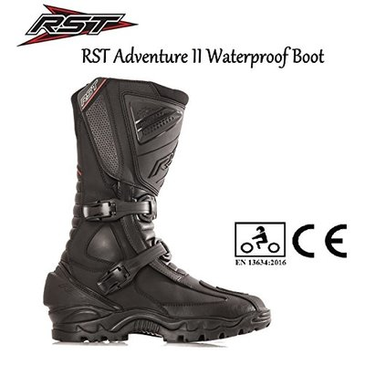 RST ADVENTURE II 1656 WATERPROOF BOOTS Motorcycle Touring Urban Sports Off Road CE Approved Boots – UK 9 / EU 43