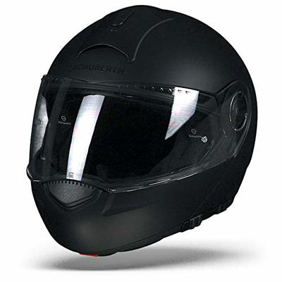 Motorcycle Schuberth C3 Helmet Matt Black M UK