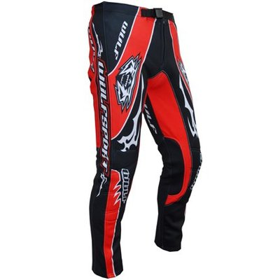 Wulf Force 10 Trials Trousers S Red