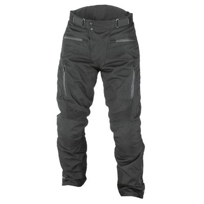 NERVE 1011040404_10 Highway Motorcycle Trousers, Black, 6XL