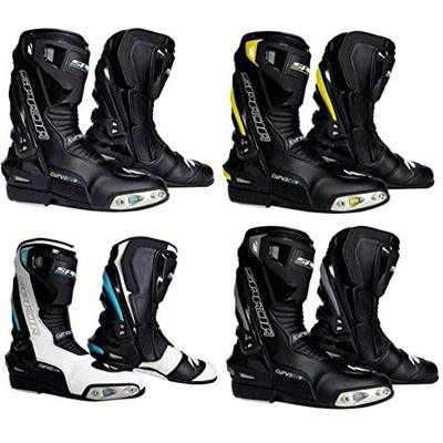 Spada Curve Evo Race Boot Black/Fluo 10.5/45