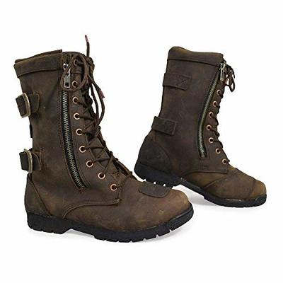 Armr Moto Tara Ladies Motorcycle Boots – Brown (7 UK)