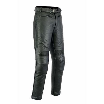 Texpeed Mens Leather Motorcycle Touring Jeans/Trousers With Armour – Huge Size Range