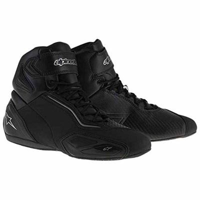 Alpinestars Motorcycle Boots Faster-2, Black, Size 45