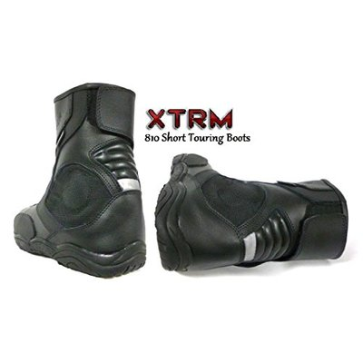 XTRM 810 MOTORBIKE NEW SHORT BOOTS Motorcycle Men & Women Touring Urban City Boots – UK 12/46 EU