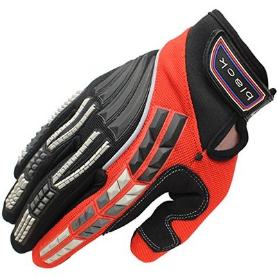 Black 5233-0201 Claw Kids Motocross Gloves 3XS Red