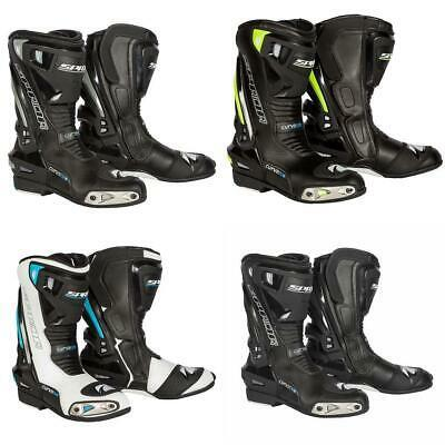 Spada Curve Evo Motorcycle Boots Waterproof Motorbike Sports Race Boot