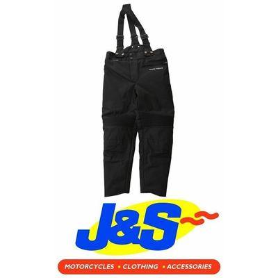 Frank Thomas FTW421 Krag Kids Motorcycle Pants Waterproof Textile Black J&S (L)