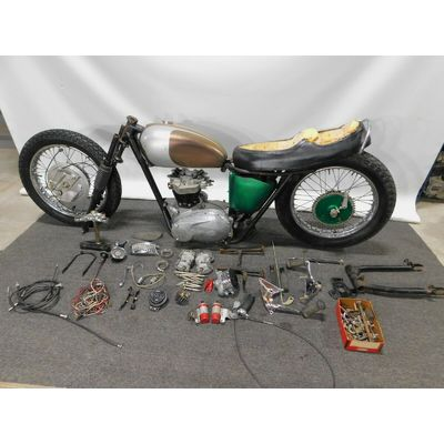 1968 Triumph TR6R TR6 650 Basket Case Project 1900 FREE SHIPPING TO ENGLAND UK