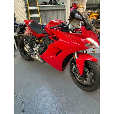 2018 ducati only 530 miles from new