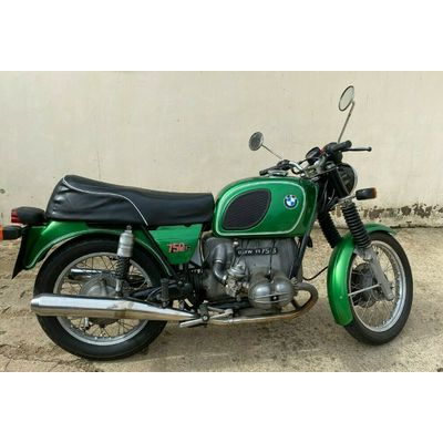 BMW R75/6 Kermit. 1974 with original Panniers & Fairing