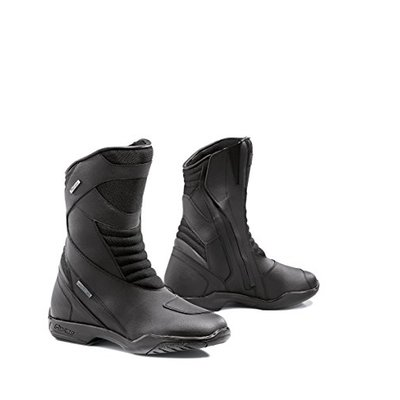 FORMA fort85W-9941Approved Nero WP Motorcycle Boots, Black, Size 41