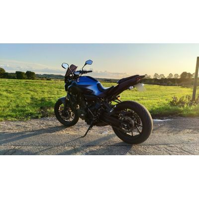 Yamaha MT-07 with Akroprovic Exhaust, HyperPro Suspension and More. LOW MILES