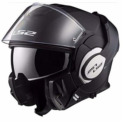 LS2 Motorcycle Helmets-Valiant Matt, Black, Size S