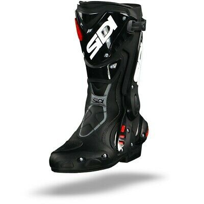 Sidi ST Black Sport Motorcycle Boots – Free Shipping