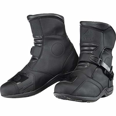 Agrius Chaos WP Adventure Mid Adventure Motorcycle Boots 45 Black (UK 11)