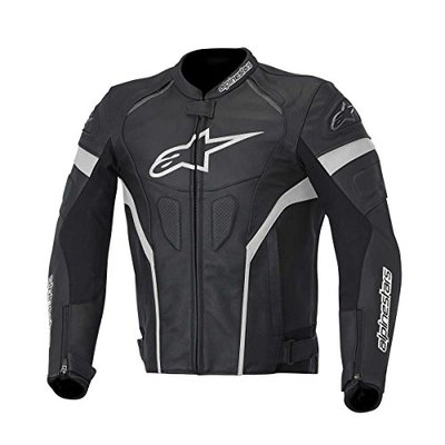 Alpinestars GP Plus R Black Leather Motorcycle/Motorbike Jacket (50)