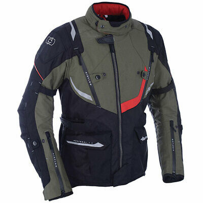 Oxford Motorbike Motorcycle Waterproof Montreal 3.0 Textile Jacket – Army Green