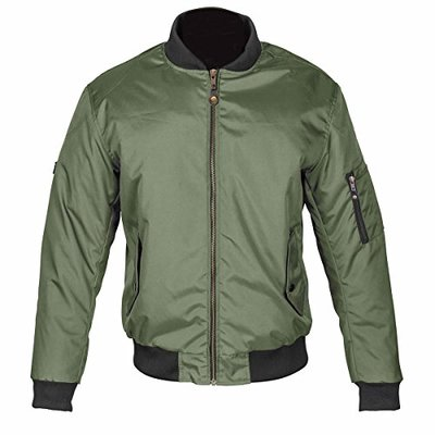 Spada Air Force One Motorcycle Jacket L Olive