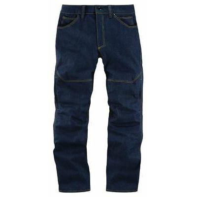 Icon Akromont Blue Motorcycle Trousers
