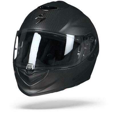 Scorpion Exo-1400 Air Carbon Black Matte Flat Motorcycle Full Face Helmet – New!