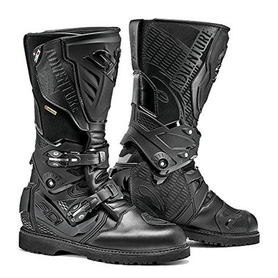 Sidi Adventure 2 Gore-Tex Motorcycle Boot, Black, Size 41