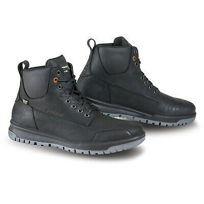 Falco Patrol Boots Black 7 41 Men Adult Urban Casual Motorcycle Waterproof