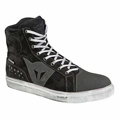 Dainese-STREET BIKER D-WP Shoes, Black/Anthracite, Size 44