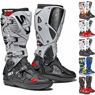 Sidi Crossfire 3 SRS Off-Road Motorcycle Motocross Boots CE Approved