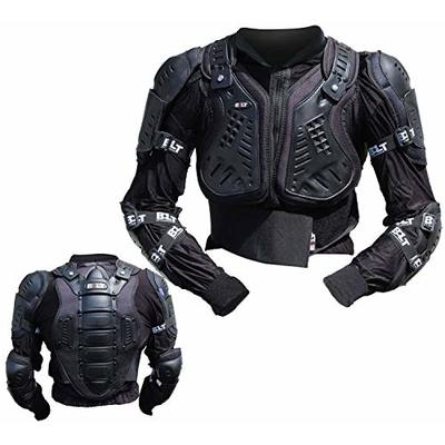 BOLT CORE-4 KIDS MOTORBIKE MOTOCROSS BODY ARMOUR CUB PROTECTIVE JACKET FULL GUARD (M (8 YEARS))