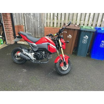 Honda MSX Grom 125 SF **Low Miles 7500**