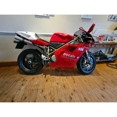 Ducati 996 SPS superb example original condition and low mileage