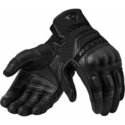 FGS139-1010-XL – Rev It Dirt 3 Leather Motorcycle Gloves XL Black