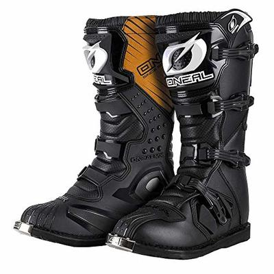 O'NEAL Rider Boots MX Motocross Motorcycle Enduro Boots Black – 0329-1, Men Womens, Weiß, 46 (EU)