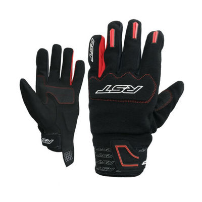RST 2100 Rider CE Approved Motorcycle Motorbike Lightweight Touring Gloves – Red