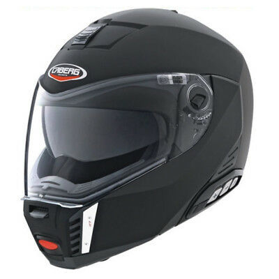 Caberg Sintesi Black Matte Flip up Helmet IN plus Size with Sun Visor