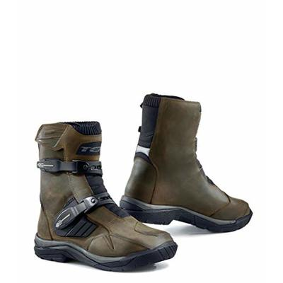 TCX Motorcycle Boots Baja MID WP Brown, Brown, 44