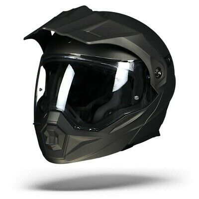 Scorpion ADX-1 Matte Anthracite, Dual Modular Adventure Motorcycle helmet, NEW