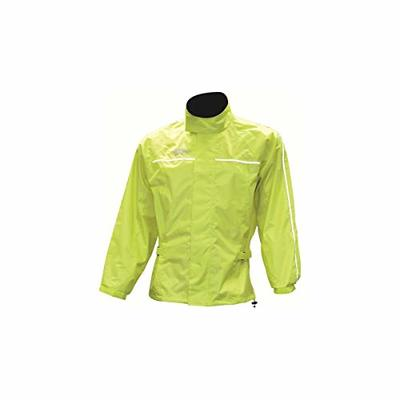 Oxford Products Unisex's Oxford Rainseal All Weather Over Jacket Riding, Fluorescent Yellow, S