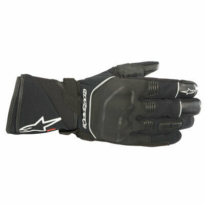 Alpinestars Andes Outdry Touring Moto Motorcycle Motorbike Textile Gloves Black