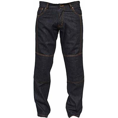 Juicy Trendz® Men Motorcycle Jeans Motorbike Trousers Reinforced Protection Lining Include Armour Biker Pants