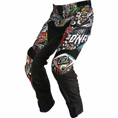 O'Neal Racing Mayhem Crank Pants – Black/Multi, All Sizes