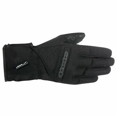 Alpinestars Stella SR-3 Drystar Ladies Motorcycle Motorbike Textile Gloves Black