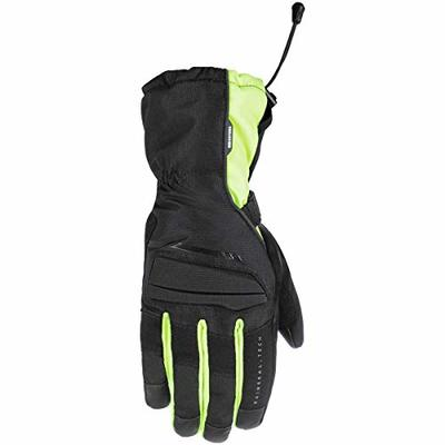 GM172602XL – Oxford Convoy 2.0 Motorcycle Gloves XL Black Fluo