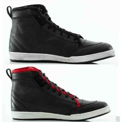 RST Urban II 2 Motorcycle Ankle Boots Hi Tops Trainers Retro 1635 Black or Red