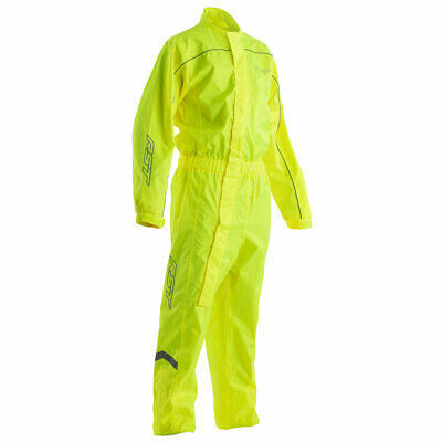 RST Hi-Vis Motorbike Motorcycle Waterproof Suit Fluo Yellow