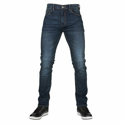 Bull-it Motorcycle Reinforced Tactical Icon Slim Covec Denim Jeans Blue