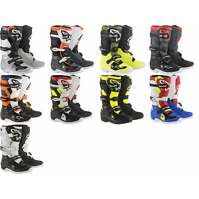 Alpinestars Youth Tech 7S Dirtbike Riding Boots for MX Motocross Off Road