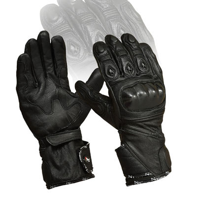BLACK CARBON KNUCKLE PROTECTIVE VENTED SUMMER MOTORBIKE KNUCKLES PADS MOTORCYCLE